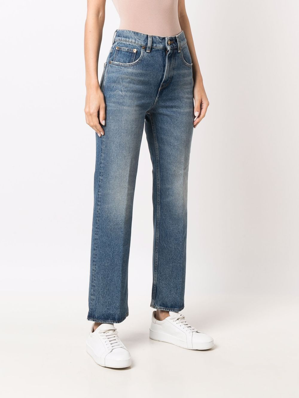 Picture of Golden Goose Deluxe Brand   Straight-Leg Jeans