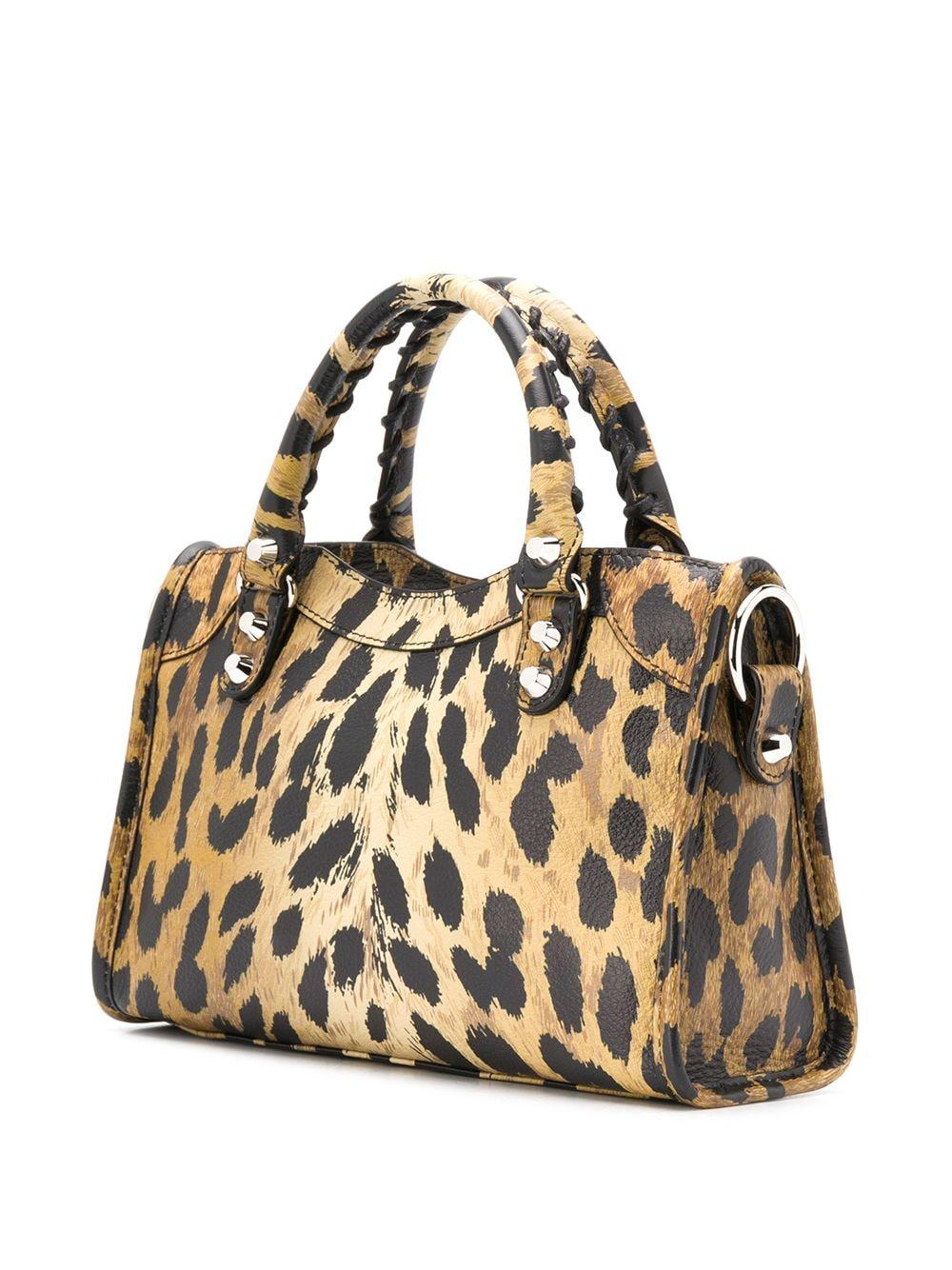 Picture of Balenciaga | Leopard Print Mini City