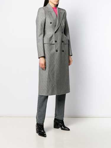 Picture of Balenciaga   Structured Double-Breasted Coat