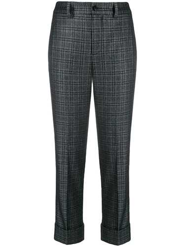 Picture of Incotex | Checked Cropped Trousers