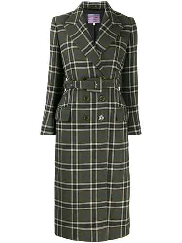 Picture of Alexa Chung | Tailored Check Midi Coat