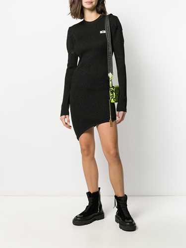Picture of Gcds | Metallic Knit Mini Dress