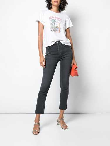 Picture of Re/Done | High Rise Ankle Crop Jeans