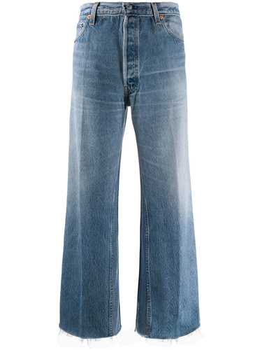 Picture of Re/Done | Straight-Leg Cropped Jeans