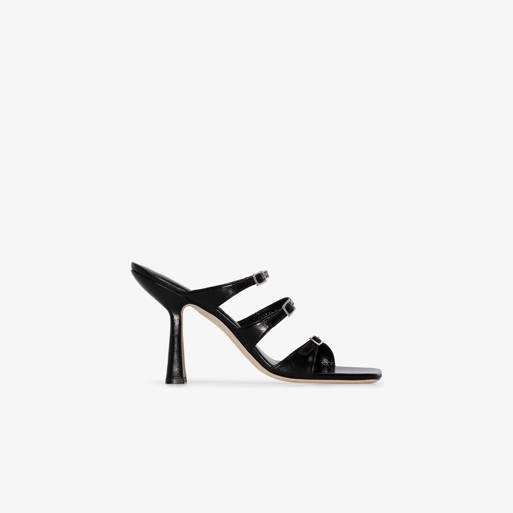 Picture of By Far | Malene 95Mm Buckled Sandals