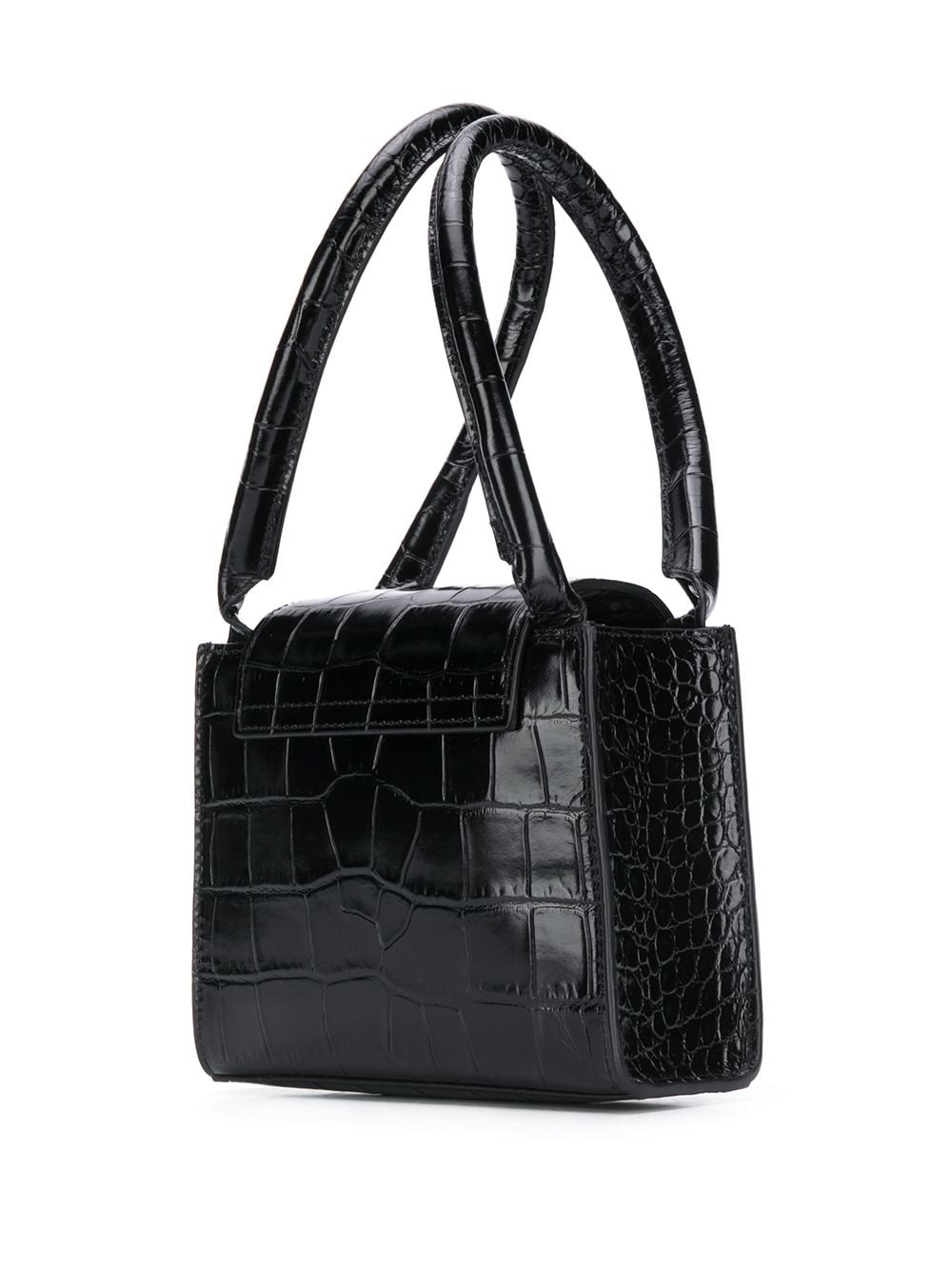 Picture of By Far   Sabrina Embossed Tote Bag
