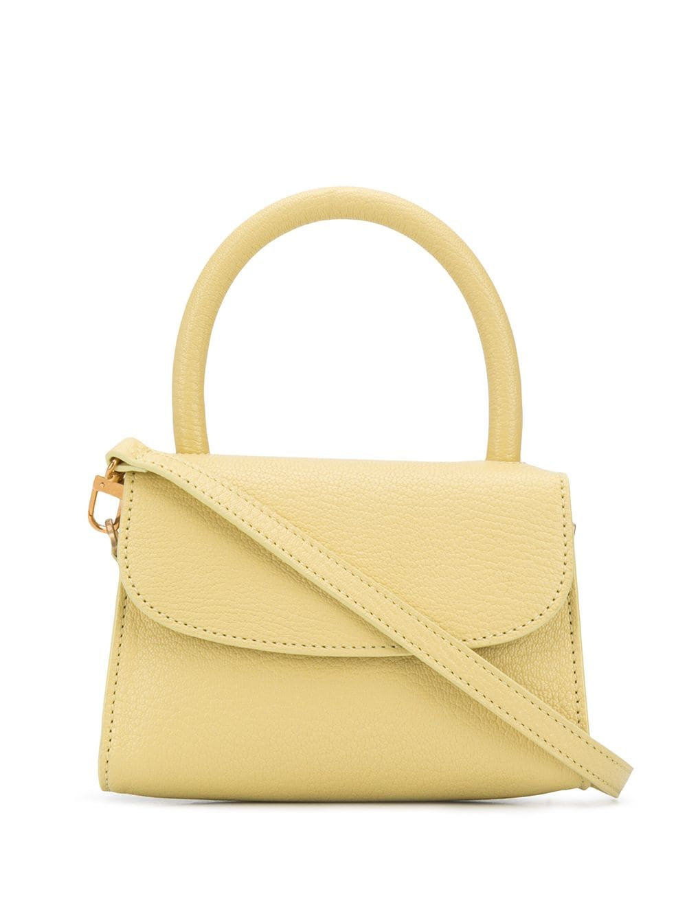 Picture of By Far | Mini Grained Leather Tote