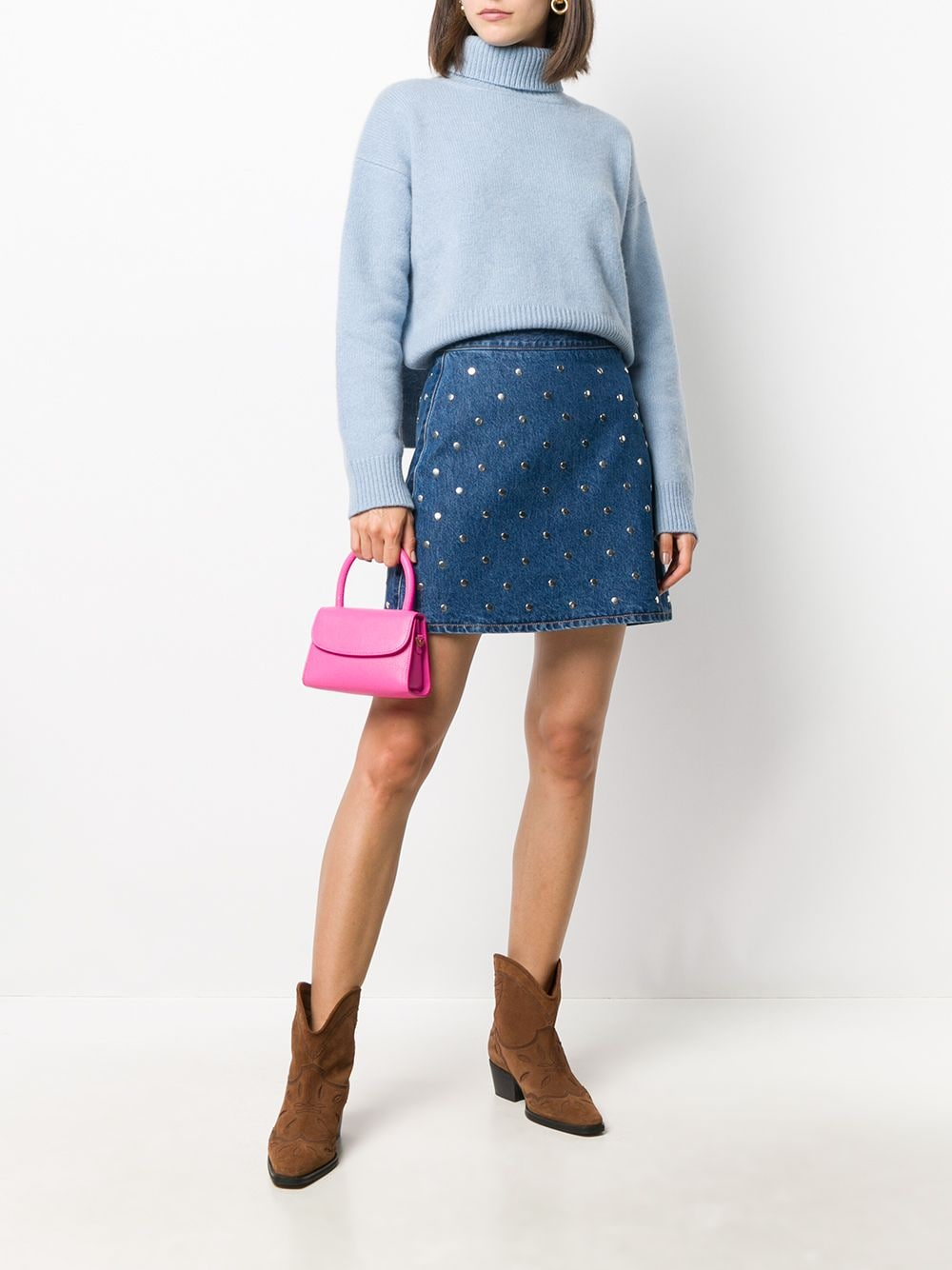 Picture of By Far | Minah Classic Tote