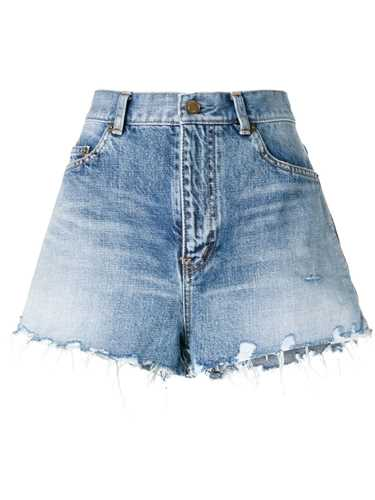 Picture of Saint Laurent | Frayed Shorts