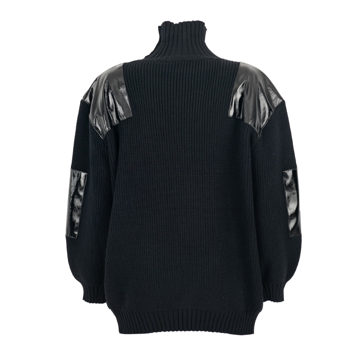 Picture of Tpn | Vynil Turtleneck Sweater