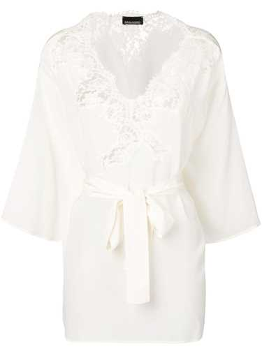 Picture of Ermanno Ermanno | Lace Detail Blouse