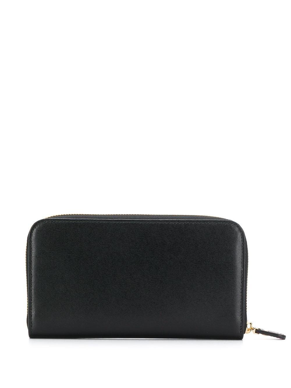 Picture of Ferragamo   Gancini Zip-Around Wallet