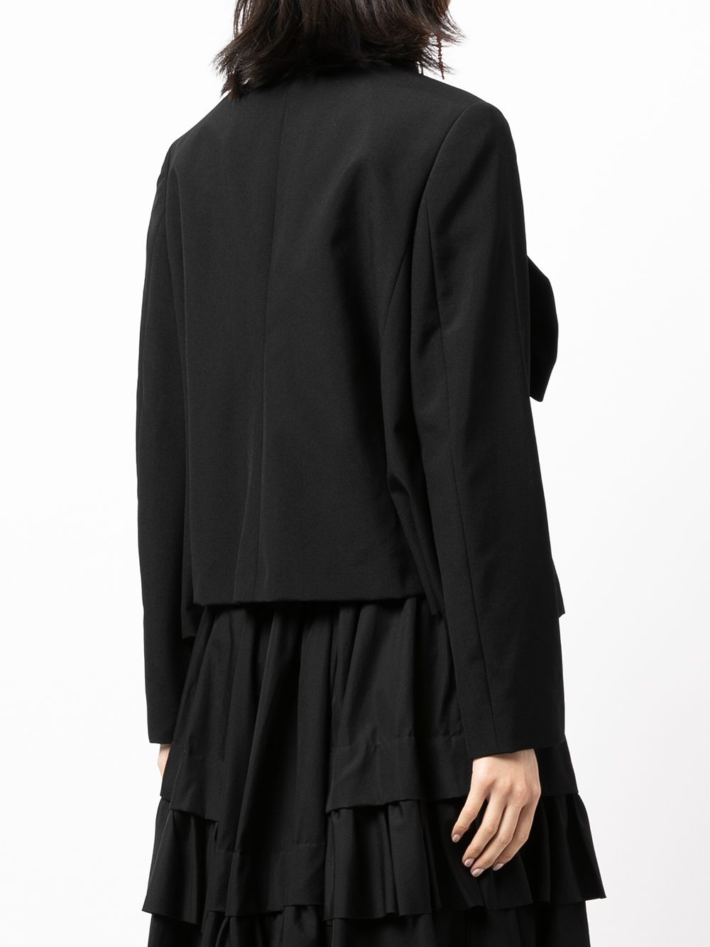 Picture of Comme Comme | Bow-Detailed Jacket