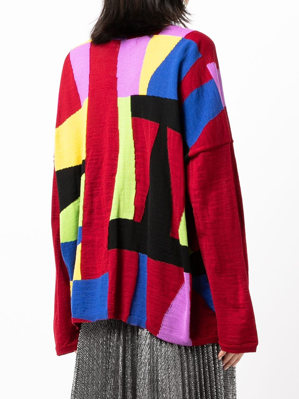 Picture of Comme Comme | Contrast Panel Jumper