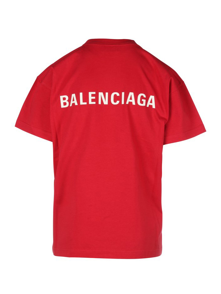 Picture of Balenciaga | Medium Fit Logo T-Shirt