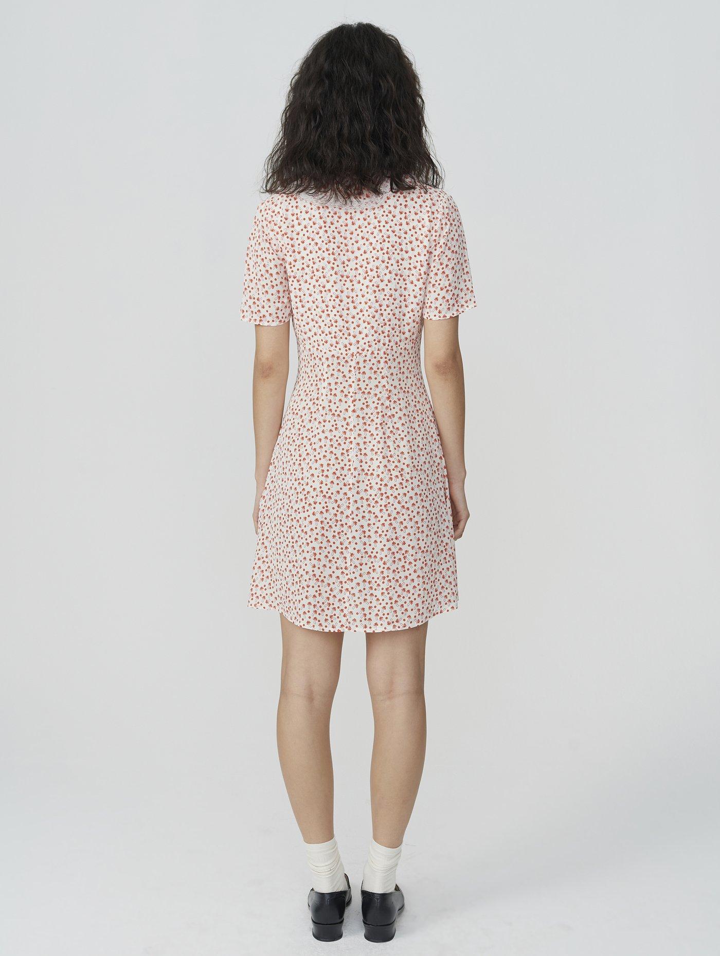 Picture of Alexa Chung | Alice Shroom Ruffle Dress