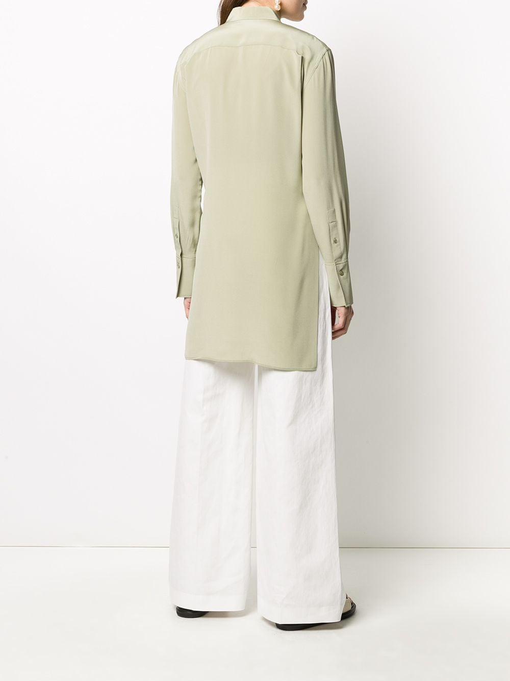 Picture of Joseph   Silk Long-Sleeve Blouse