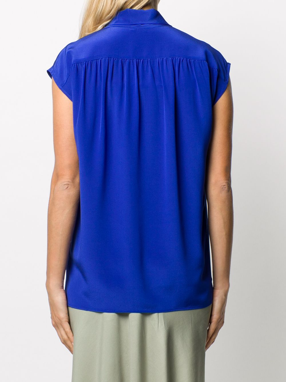 Picture of Joseph | Nancy Silk Tie-Neck Blouse