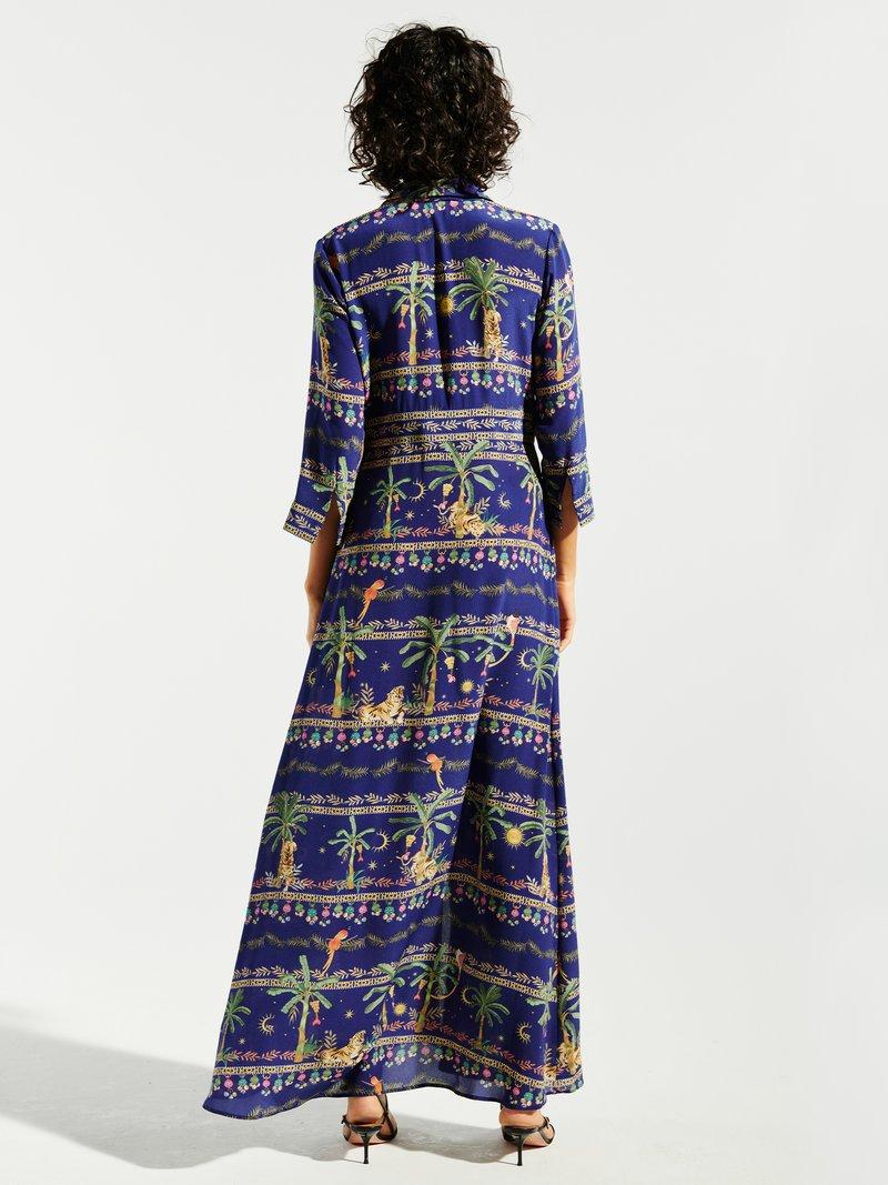 Picture of Hayley Menzies | Twilight Safari Maxi Shirt Dress