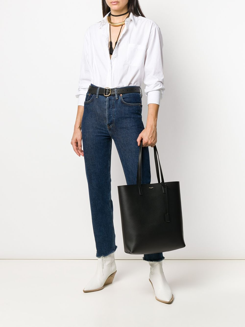 Picture of Saint Laurent | Large Shopping Tote Bag