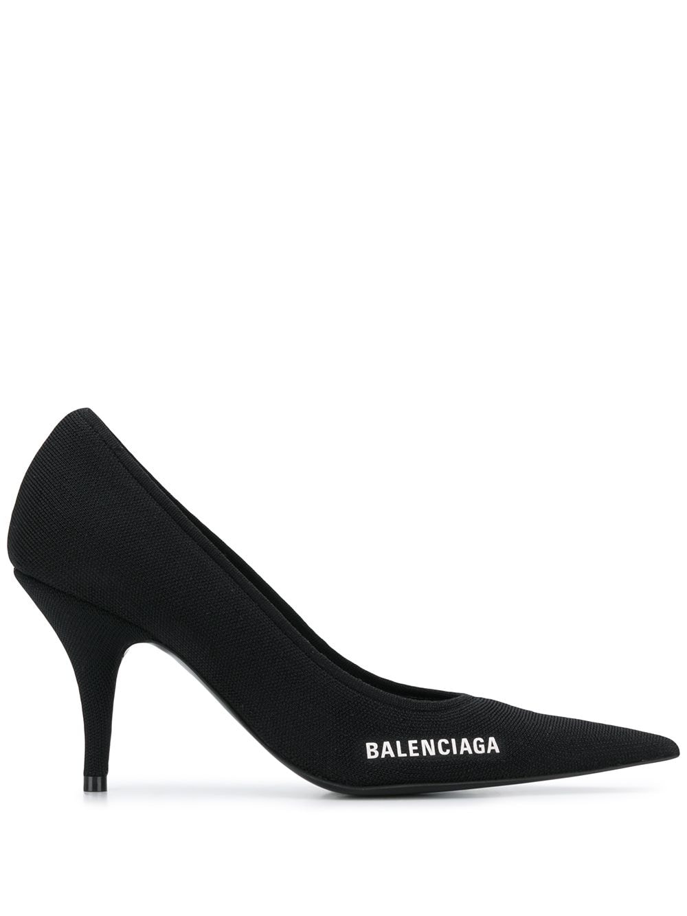Picture of Balenciaga | Logo Detail Pointed Toe Pumps