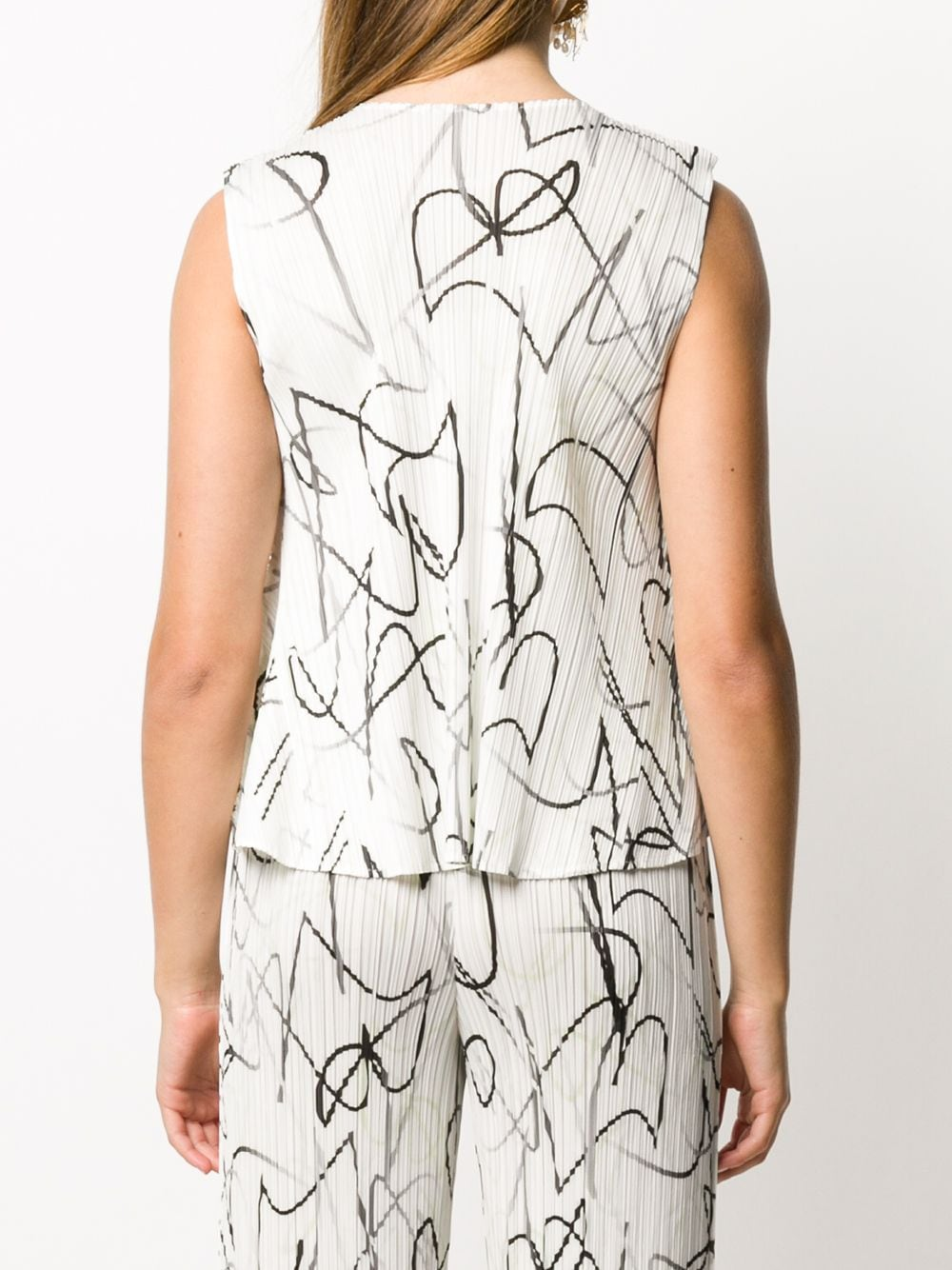 Picture of Issey Miyake Pleats Please | Conductor Micro-Pleated Top