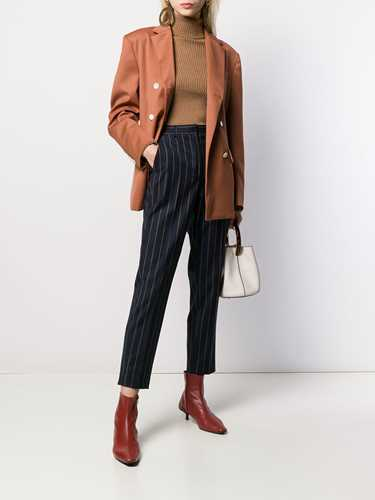 Picture of Incotex | Pinstripe Cropped Trousers