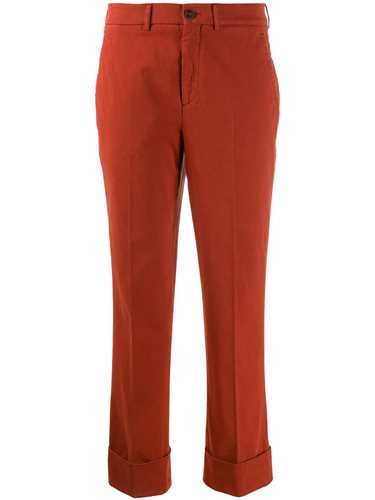 Picture of Incotex | Tapered Cropped Trousers