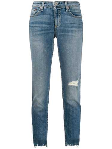 Picture of Rag&Bone   Raw Cuffs Skinny Jeans