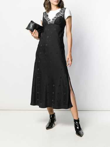 Picture of Mcq | Long Sparrow Print Dress