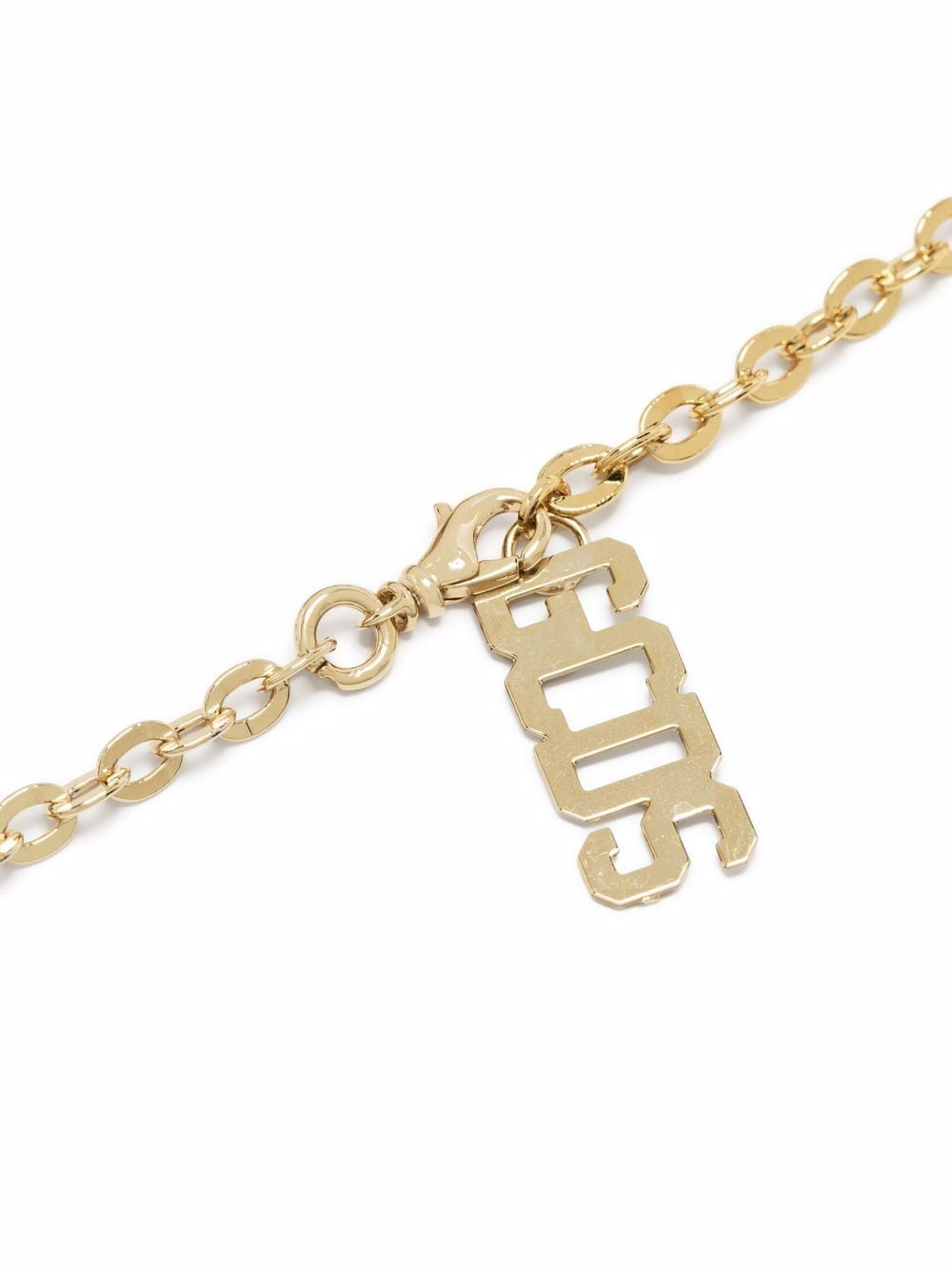 Picture of Gcds   Crystal-Embellished Logo-Plaque Necklace