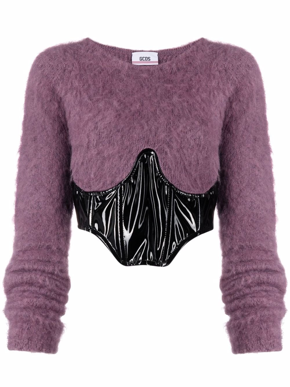 Picture of Gcds | Corset-Panel Jumper Top