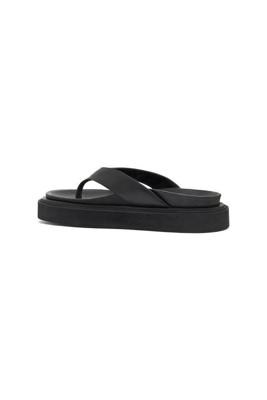 Picture of Hazy   Sallie Leather Platform Flip-Flop
