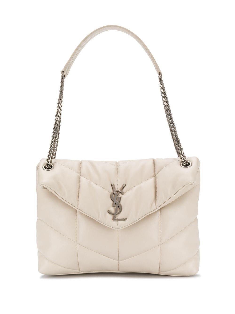 Picture of Saint Laurent | Loulou Medium Leather Shoulder Bag