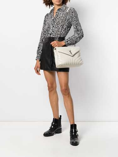Picture of Saint Laurent   Loulou Medium Quilted Shoulder Bag