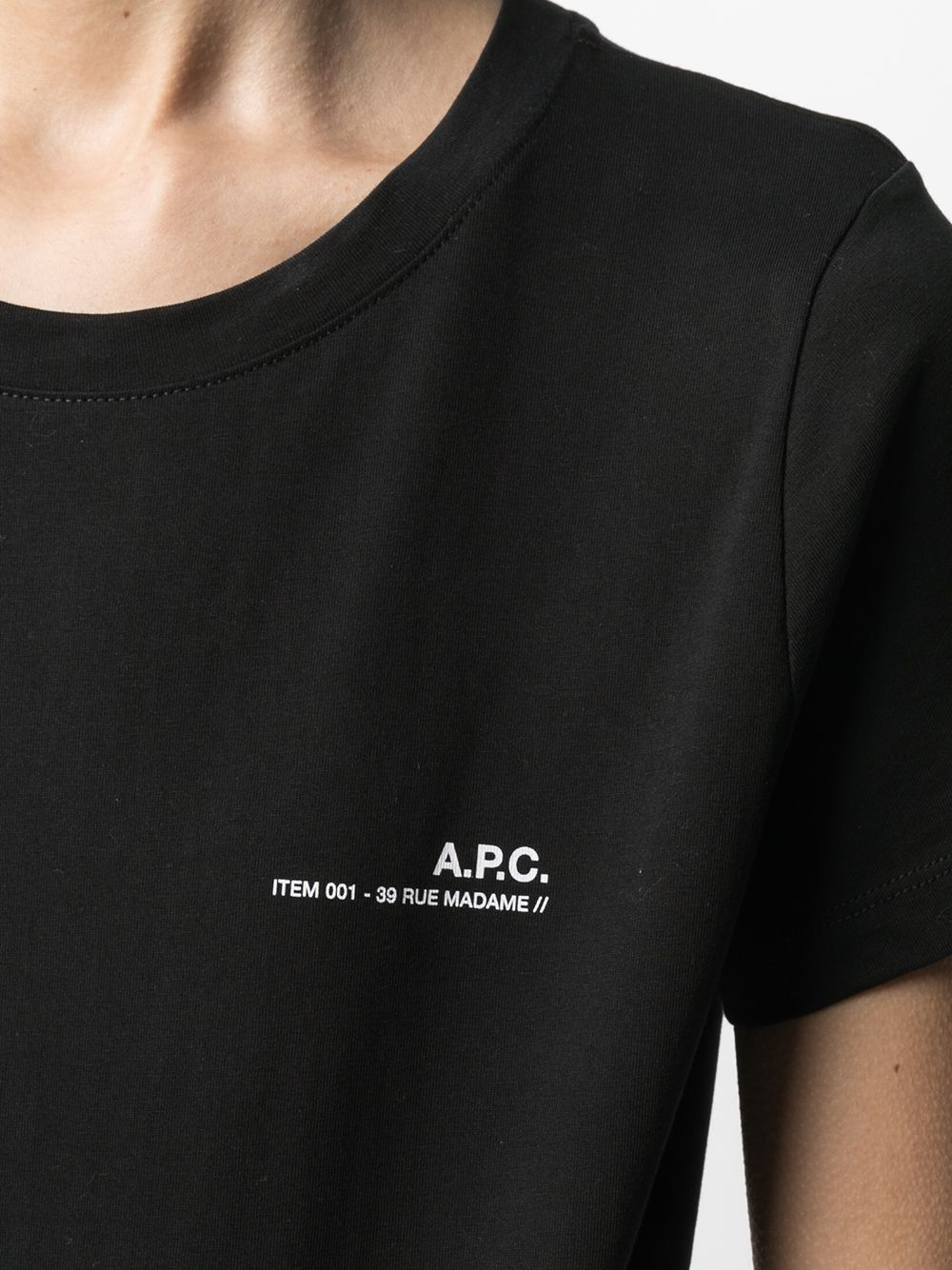 Picture of A.P.C. | Cotton T-Shirt