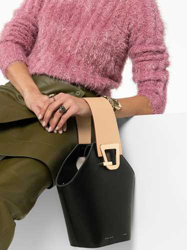 Picture of Danse Lente   Jonny Leather Bucket Bag