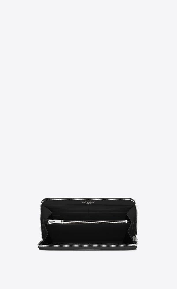 Picture of Saint Laurent | Monogram Zip Around Wallet