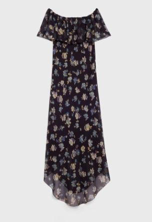 Picture of Celine | Off-The-Shoulder Dress