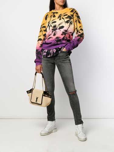 Picture of Saint Laurent | Palm Print Sweatshirt