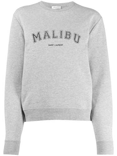 Picture of Saint Laurent | Malibu Crewneck Sweatshirt