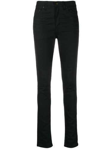Picture of Saint Laurent | Mid-Rise Skinny Denim Jeans