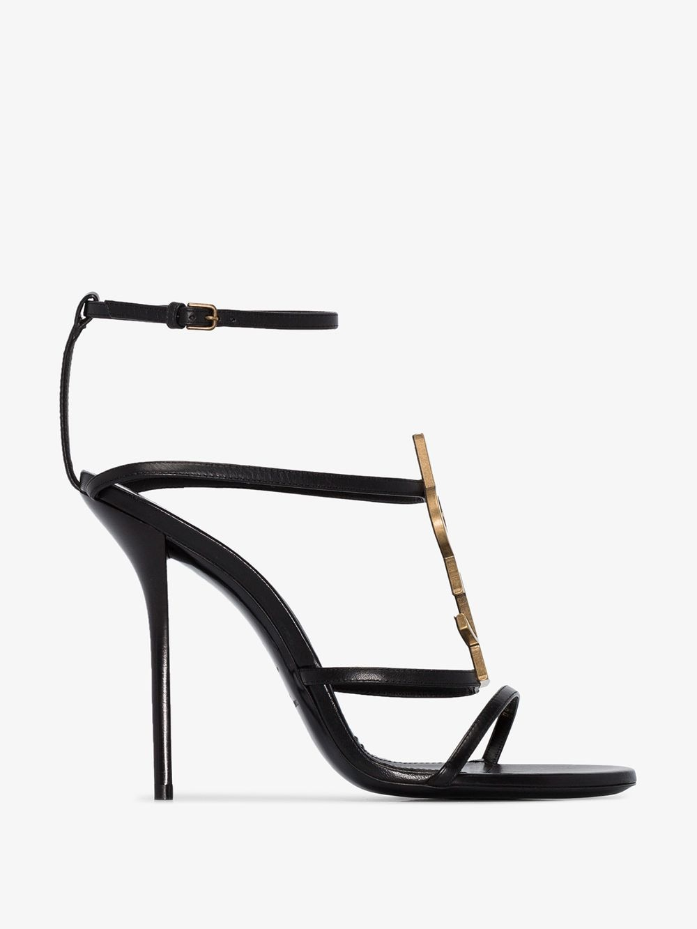 Picture of Saint Laurent | Cassandra 110Mm Sandals