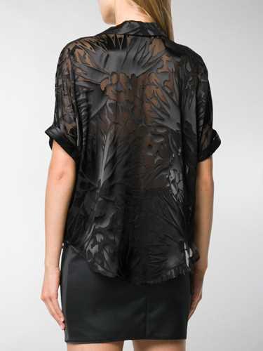 Picture of Saint Laurent | Printed Sheer Shirt