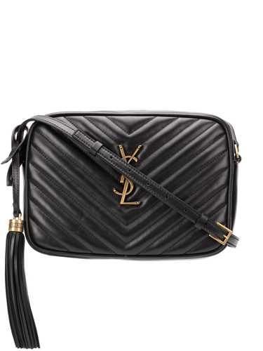 Picture of Saint Laurent   Matelasse Tasseled Shoulder Bag