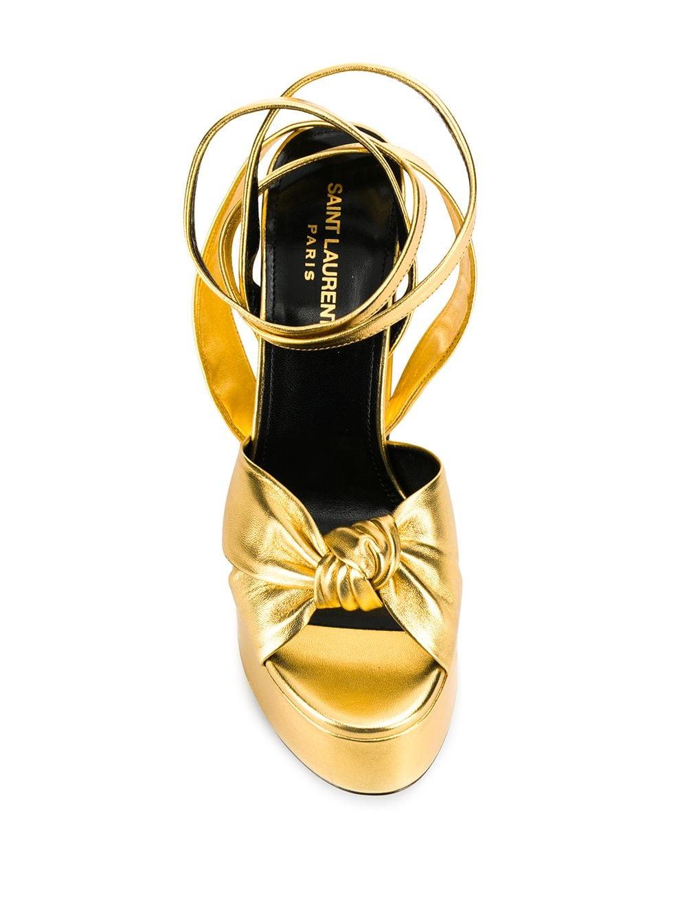 Picture of Saint Laurent | Block Heel 130Mm Sandals