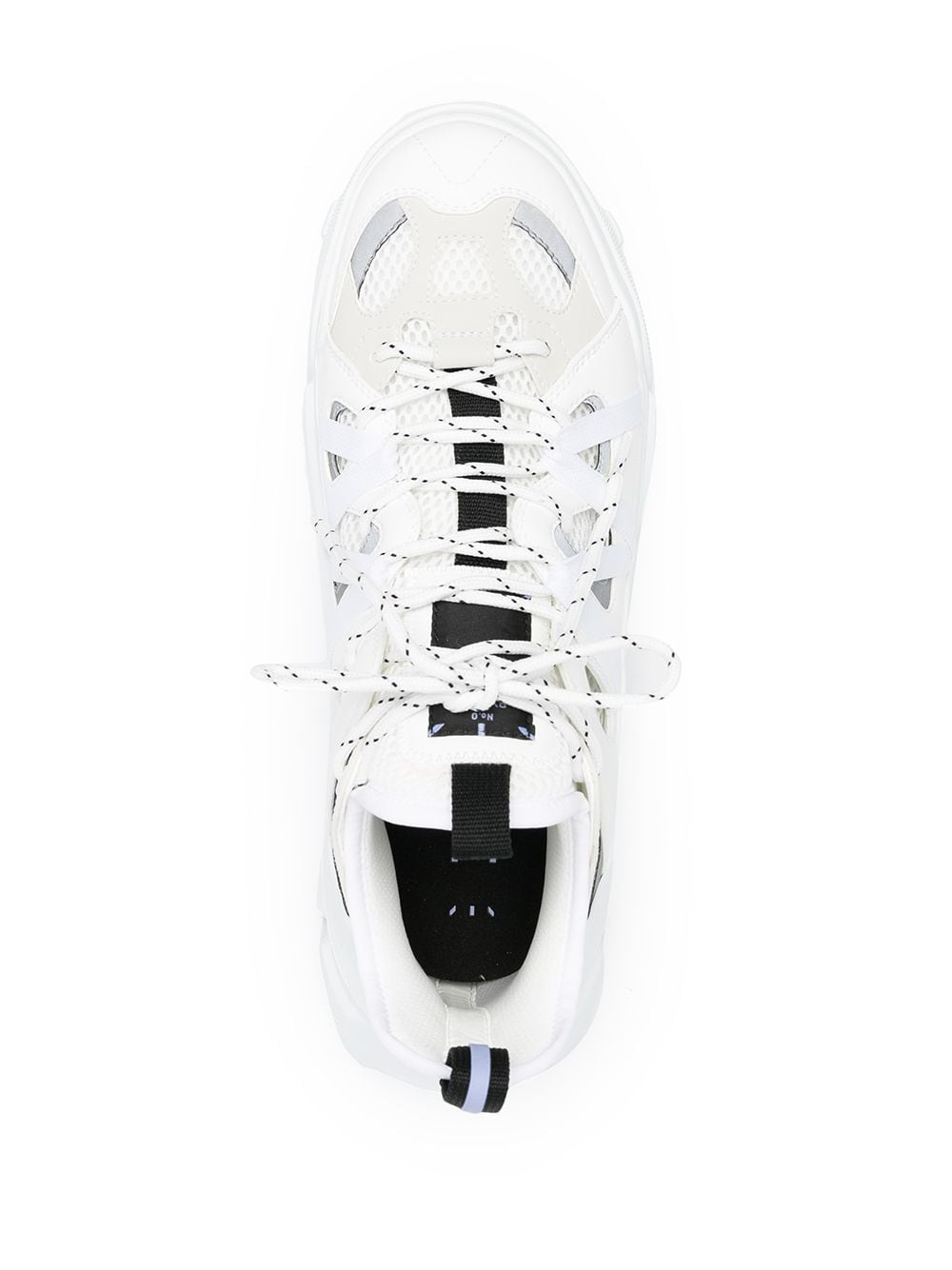 Picture of Mcq | Lace-Up Low-Top Sneakers
