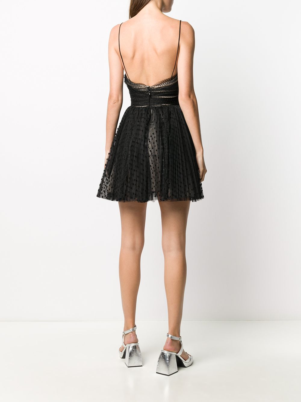 Picture of Brognano | Pleated Tulle Dress
