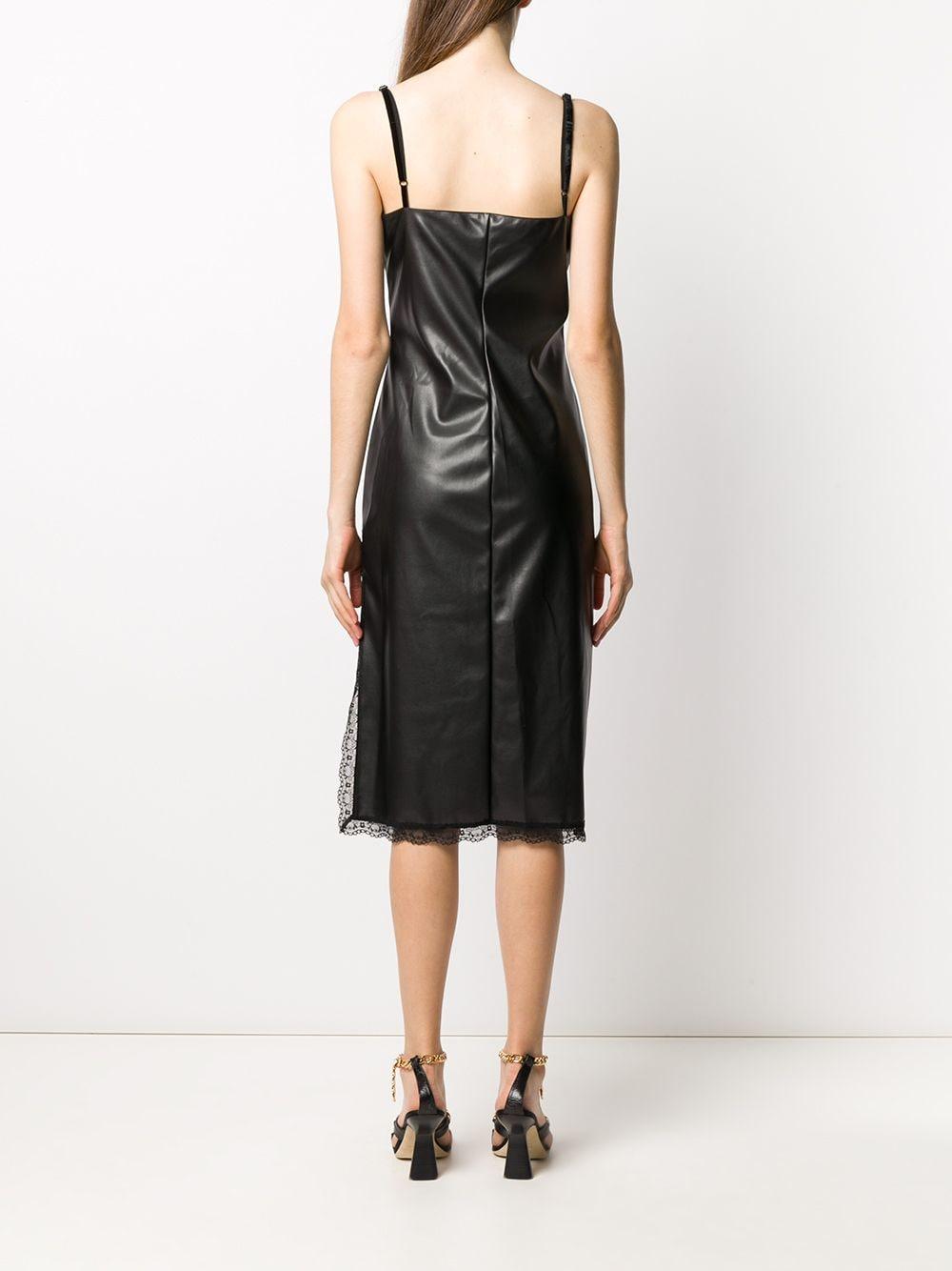 Picture of Ermanno Ermanno | Lace-Panel Slip Dress