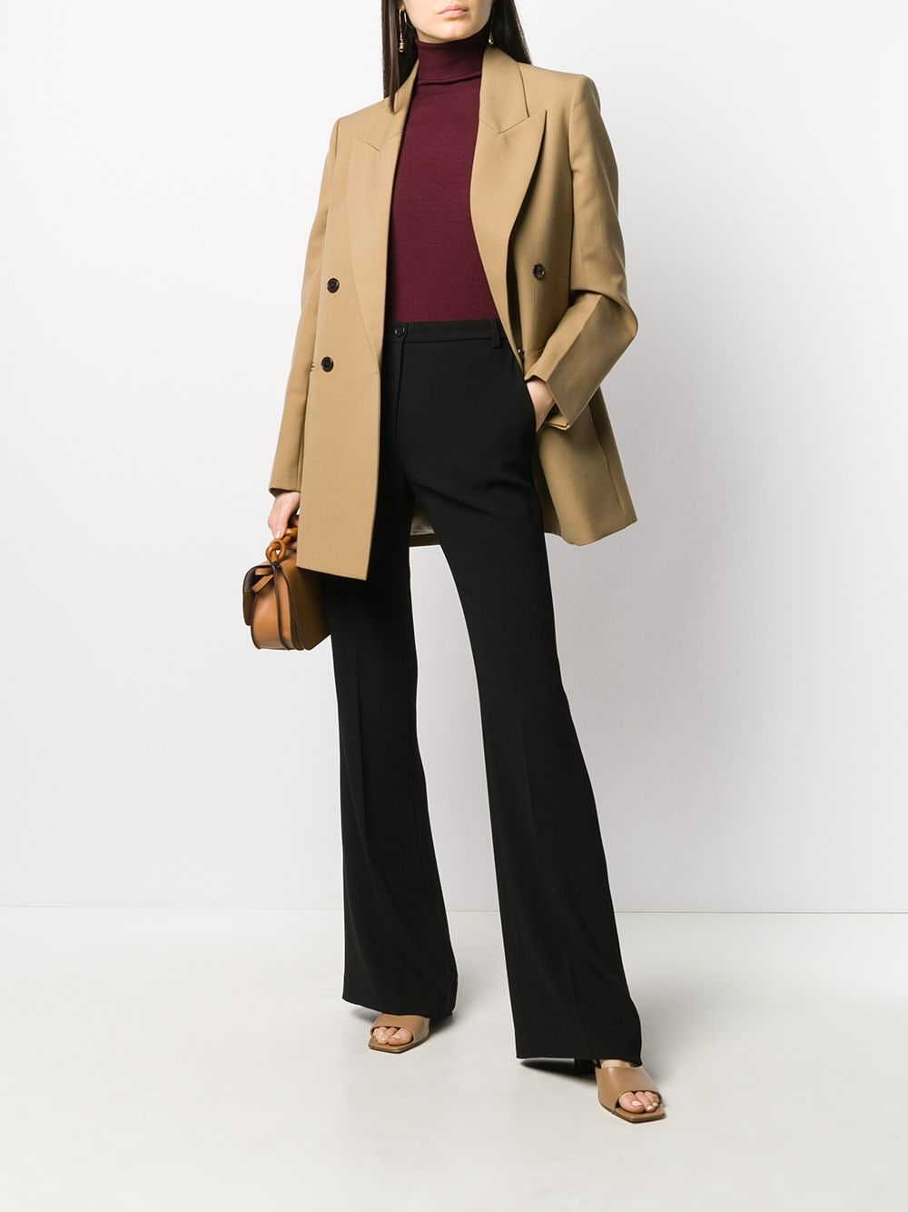 Picture of Aspesi   Cady Flared Trousers